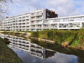 """Dit ruime en instapklare appartement maakt deel uit van """"Residentie Mouterie"""" te Brugge, en bevindt zich aan de zijde van het Zuidervaartje, waar men"""