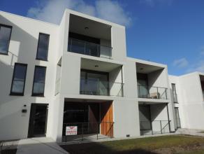 Res. Park de Blauwe: ruim appartement op 2de verdiep met living + open ingerichte keuken, toilet, berging, badkamer met douche, 2 slaapkamers, ruim te