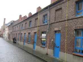 Unieke en instapklare 2-slaapkamerwoning met terras op rustige ligging in het centrum van Brugge, vlakbij het Minnewaterpark, de ring, vlotte verbindi