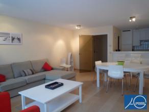 Gemeubeld. Heel mooi en stijlvol appartement met 2 slaapkamers. Prachtig gelegen op een boogscheut van de Zeedijk nabij de Lippens laan en het Rubensp