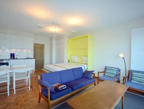 Prachtig vernieuwde studio met slaapkamer aan de Zeedijk Volledig vernieuwde studio met slaapkamer te huur op jaarbasis. De gemeubelde studio gelegen