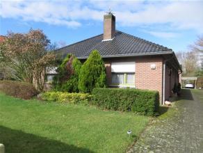 Alleenstaande woning te koop op lijfrente in blote eigendom (de verkopers blijven er zelf wonen) te Meerhout met een grondoppervlakte van 2.000 m&sup2