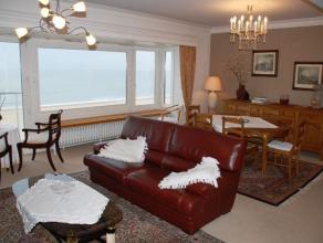Ruim appartement op een 7e verdieping op de zeedijk nabij het Rubensplein, gemeubeld. ruime woonkamer, ingerichte keuken, berging, afzonderlijk toilet