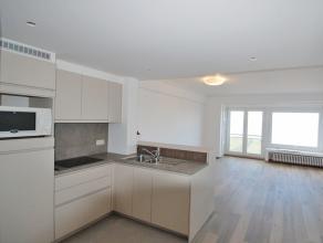 appt op 3e verdieping op de Zeedijk niet-gemeubeld, volledig gerenoveerd met ingerichte keuken, woonkamer, 2 slaapkamers, badkamer, inkomhall met vest