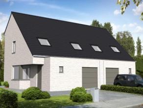 Lot 1 heeft een grondoppervlakte van 347 m² en is voor een nieuw te bouwen half-open bebouwing.Indeling van de woning kan 'a la carte' opgemaakt