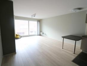 Recent en zonnig appartement met één slaapkamer op de eerste verdieping. Het appartement bestaat uit: - ruime inkomhal; - zonnige leefru