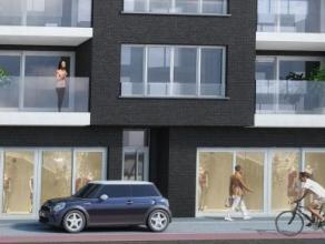 """Exclusief handelsgelijkvloers gelegen in nieuwbouwresidentie """"Marquize"""" - op uitstekende invallocatie naar Oostende (nabij jachthaven, Petit Paris en"""