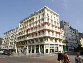 Een uitzonderlijk appartement in volle historische stadscentrum Oostende - vlakbij Casino-Kursaal met zeezicht - gelegen in een prachtig historisch ge