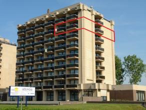 Uitzonderlijk woonappartement van 180 m². Terrassen aan 3 zijden van het appartement. 3 slaapkamers, 2 badkamers. Schitterend zicht vanaf de 7de