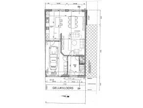 Nieuwbouwwoning met 3 ruime slaapkamers en tuin. Ingedeeld met living met open keuken (veel lichtinval!) garage met wasplaats en inkom met toilet. Ver