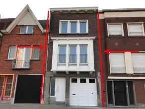 Burgerwoning met 4 ruime slaapkamers en stadstuin en garage, HP : 750 euro/m - Vrij : 01/05/2017 - Niet beschermd, niet op inventaris. EPC : 701 kWh/m