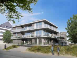 Luxe nieuwbouwproject met 10 ruime appartementen ! Op 50 meter van het strand, zeer grote zonneterrassen !Twee afzonderlijke, kleine residenties.Moder
