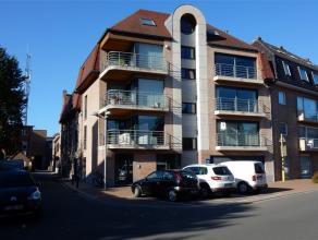 Zeer ruim appartement met alle comfort en open zicht op het Hulstplein: hall met toilet, grote living in parket, terras, volledig ingerichte keuken me