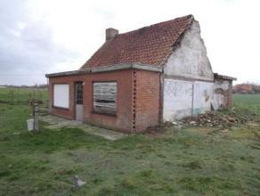 Prachtig gelegen te renoveren / nieuw te bouwen hoeve met landelijke vergezichten !Lange oprijlaan gelegen vlakbij de parochie Sint-Jan te Wingene.Vol