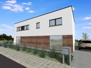 In Roeselare bouwen we deze nieuwe koppelwoning. Twee mooie eengezinswoningen worden er gebouwd op een oppervlakte van om en bij de 303 m2.  Rustig ge