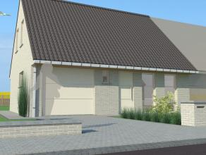 In Roeselare bouwen we deze nieuwe koppelwoning. Twee mooie eengezinswoningen worden er gebouwd op een oppervlakte van om en bij de 303 m2. Rustig gel