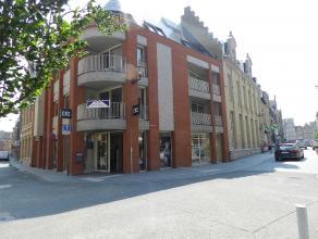 Centrum IEPER: Exclusief nieuwbouwappartement op hoek Diksmuidestraat en Oude Houtmarktstraat 50 m van Grote Markt en Astridpark totale oppervlakte 35