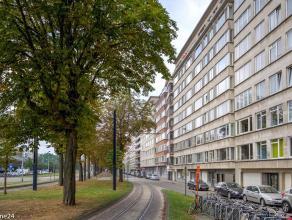 Dit energiezuinig en lichtrijk 2-slaapkamer appartement met een oppervlakte van 100m² ligt op de 8ste verdieping van een mooie residentie nabij h