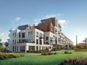 Dit appartement in het nieuwbouwproject 'Tribeca' ligt op gelijkvloers en heeft een bewoonbare oppervlakte van 115,68 m² met een tuin van 48 m&su