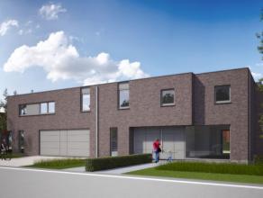 Prachtige ruime nieuwbouwwoning in Eine, bestaande uit inkomhall, living met open keuken, berging, garage, tuin. Op de 1ste verdieping bevinden zich d