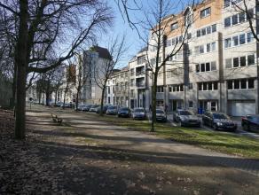 Dit heel ruime appartement (160m²) met drie grote slaapkamers en autostandplaats is gelegen langs de residentiële Koning Leopold II laan met