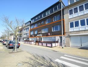 Ruim appartement, gelegen in het centrum van Zelzate. Indeling: inkomhal - zeer ruime leefruimte met veel natuurlijk lichtinval - keuken - badkamer me