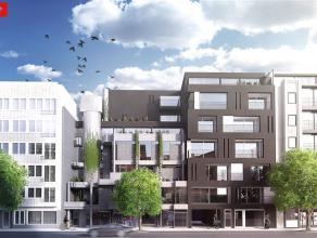 Handelsruimte (73 m²) te koop, gelijkvloers met goed zichtbare etalage aan straatkant, casco afwerking, VP euro 166.000 - Residentie Floralies is