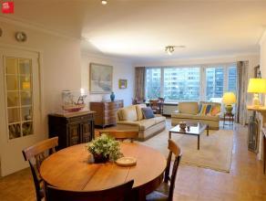 Gent - Gustaaf Callierlaan 221: Ruim (120 m²) appartement op de 4e verdieping met 3 slaapkamers, 2 zuidwest georiënteerde terrassen en garag