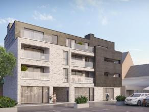 Deze eigentijdse nieuwbouwarchitectuur biedt plaats aan 5 appartementen, een winkelruimte en een kantoor gelegen in het centrum van Wetteren op wandel