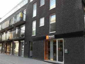 Recent nieuwbouw appartement TE HUUR, omvattende, lift, inkomhal, techn. ruimte/wasplaats, grote lichtrijke living en terras met open voll. inger.keuk
