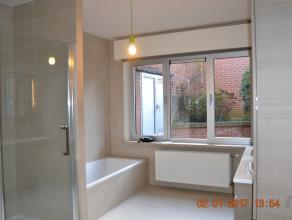 Toplocatie.<br /> Ruim gelijkvloers volledig gerenoveerd appartement, residentie Floréal, gelegen in het centrum van Wetteren, op wandelafstand