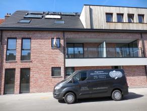 Ruim nieuwbouwappartement te Wetteren-Ten-Ede.<br /> <br /> Dit appartement heeft een ruime leefruimte met open keuken. Aan weerskanten van de leefrui