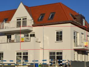 Dit prachtige appartement is gelegen in een volledig nieuwe verkaveling van 5 appartementsblokken.Het appartement is gelegen op de eerste verdieping,