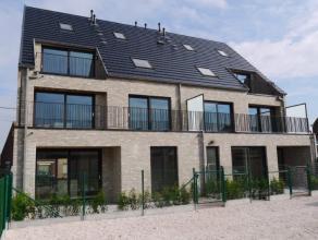 Appartement van 88m², living, volledig ingerichte keuken en badkamer, 2 slaapkamers, berging, terras, fietsenstalling, appartement volledig gesch