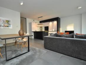 Prachtig nieuwbouwappartement in de paul parmentierlaan, zeer centraal gelegen.Keuze van zeer kwalitatieve materialen. Volledig geinstalleerde open ke