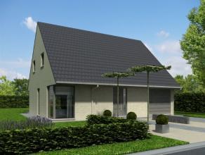 Nieuw te bouwen alleenstaande woning met vrije keuze van architectuur te Waarschoot. Prijs voorbeeldwoning, maar geen verplichting. Your Home luistert