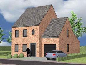 Nieuw te bouwen alleenstaande woning met vrije keuze van architectuur te Oudenaarde. Prijs voorbeeldwoning, maar geen verplichting. Your Home luistert