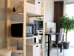 Op slechts enkele meters van het station van Leuven kan u dit energiezuinig, kleinschalig appartementsgebouw terugvinden, opgericht in 2010. De studio