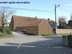 CENTURY 21 MAISON BLANCHE vous propose, au centre de Obaix, dans l'entité de Pont-à-Celles, à 10 min de Nivelles, dans un environ