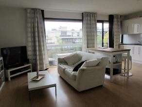 Superbe studio umineux meublée (5ième étage) avec terrasse. Comprenant: hall d'entrée, vestiaire / rangement, living avec