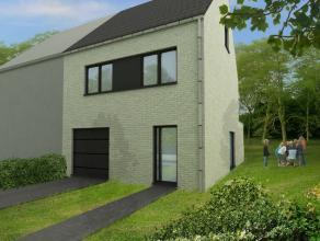 Nieuw te bouwen half-open woning met 3 slpk., inpandige garage en tuin op 04 are 55 ca, gelegen nabij het Centrum van Opwijk. <br /> De indeling en af
