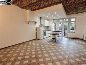 Dans une rue calme, à proximité de la Place Colignon, appartement 1 chambre de 70 m² avec cours - Hall de jour/nuit de 12 m² -
