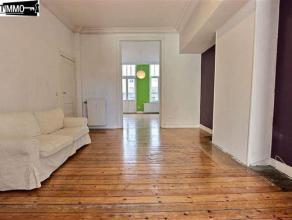 Dans une petite copropriété entre la place Dailly et le square Ambiorix, sympathique appartement 1 chambre de +/ 83 m² (type 3 pi&e