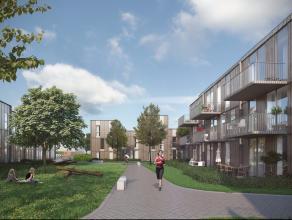 Zeer centraal gelegen nieuwbouwproject t Fineer, duurzame, kwalitatieve, moderne en energiezuinige woningen met 3 of 4 slaapkamers uitkijkend op een g