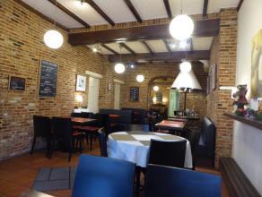 Sfeervol ingerichte en goed draaiende tea room met een oppervlakte van ca. 85 m² in een van de drukste winkel/wandelstraten van Kortrijk. De ruim