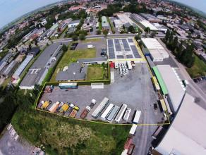 """INDUSTRIEGROND op ambachtelijke zone """"Konijnenbos"""" te Gistel! Vlotte bereikbaarheid voor vrachtwagens, vlakbij E40 (4km)! Goed gelegen, grotendeels ve"""