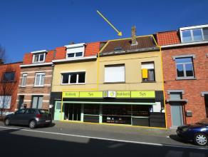 HANDELSPAND, bestaande uit winkelruimte, magazijn, garagebox en APPARTEMENT (op 1°V. en 2°V.) te Brugge (Sint-Kruis)! INDELING:Gelijkvloers: w