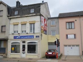 Commerce + appartement à vendre situé à proximité de l'avenue de Longwy ce commerce offre plusieurs possibilitées,