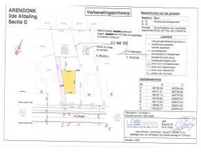 Bouwgrond voor open bebouwing, gelegen te Arendonk, De Bergen (Den Ouden Godt), kad.gekend wijk D, nr.557Z/dl en 557W/dl, opp. volgens opmeting 8a 60c