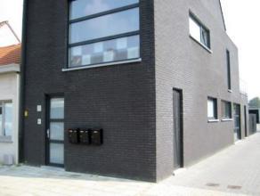 Gelijkvloers nieuwbouwappartement met 1 slaapkamer en tuin. Dit appartement met airco is voorzien van alle comfort met open keuken en woonkamer en vee